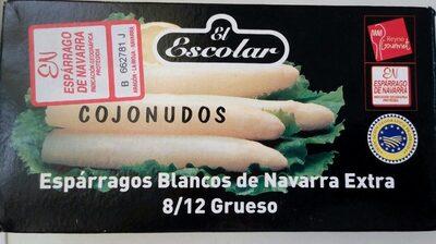 Espárragos blancos de Navarra - Producto - es