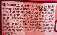 torcidas pica fresa - Ingredientes