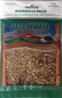 Manzanilla dulce - Producto - es