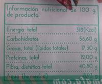 Cayena - Información nutricional - es