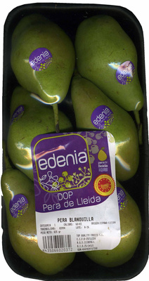 Pera DOP Lleida - Producto - es