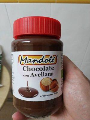 Crema par untar Cacao con Avellana