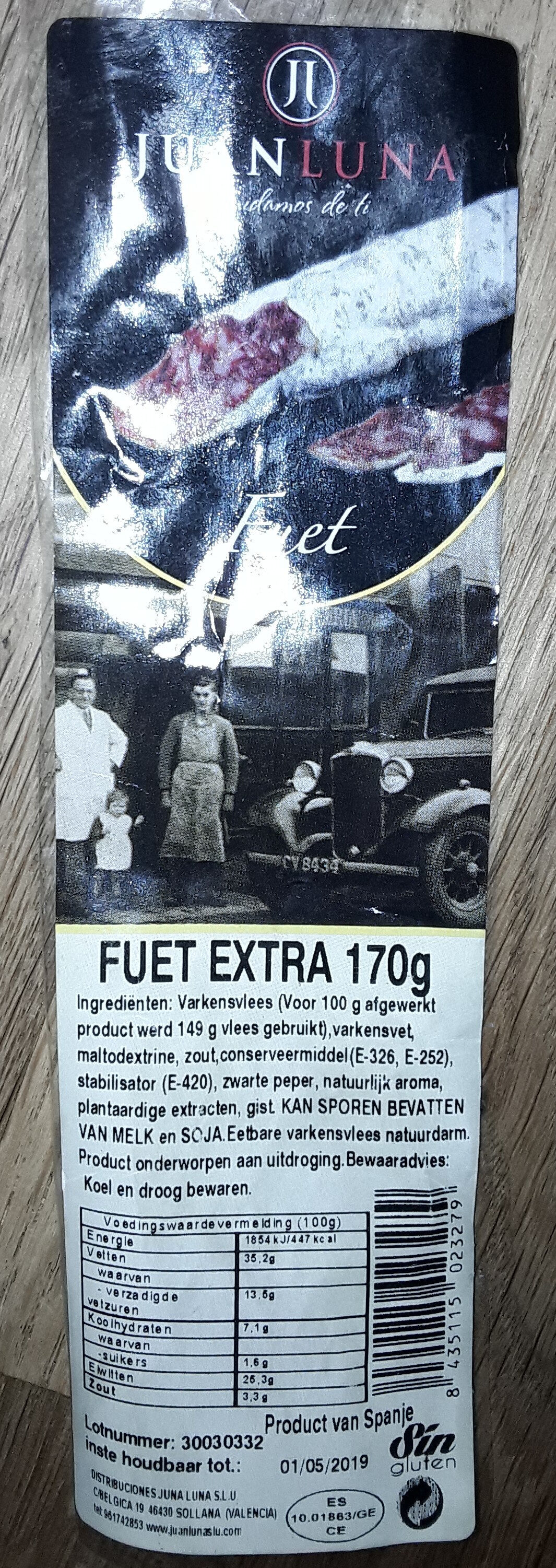 Fuet extra - Product