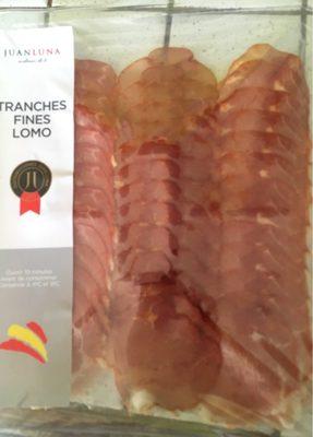 Tranches fines Lomo - Produit