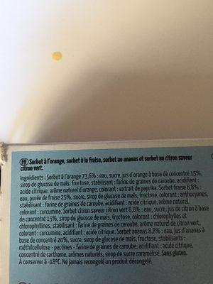 Asterix paf - Ingrediënten - fr