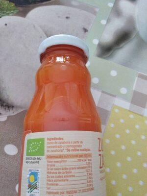 Zumo de zanahoria - Ingredients