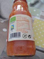 Zumo de zanahoria - Informació nutricional