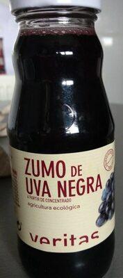 Zumo de uva negra a partir de concentrado