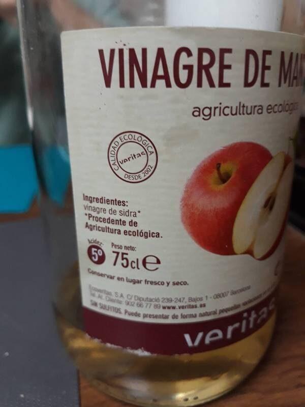 Vinagre de Manzana - Ingrédients - es