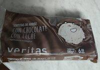 Tortitas de arroz con chocolate con leche - Producto