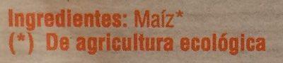 Maíz palomitas - Ingrediënten - es