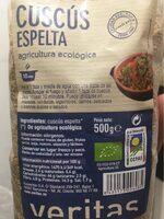 Cuscús Espelta - Product - es