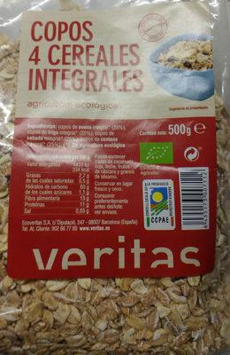 copos 4 cereales integrales