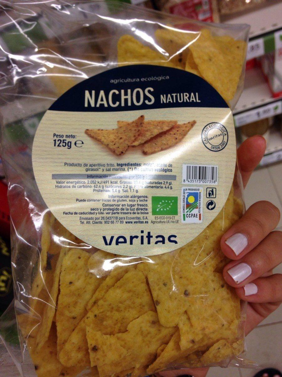 Nachos natural - Produit - fr