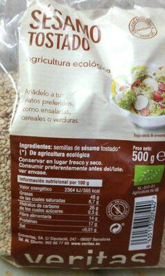 Sesamo tostado - Producte - es