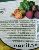 Varitas de verduras - Información nutricional - es