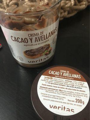 Crema de cacao y avellanas - Product