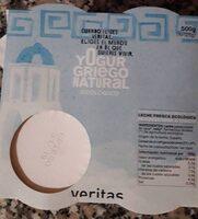 Yogur griego natural ecologico - Producto