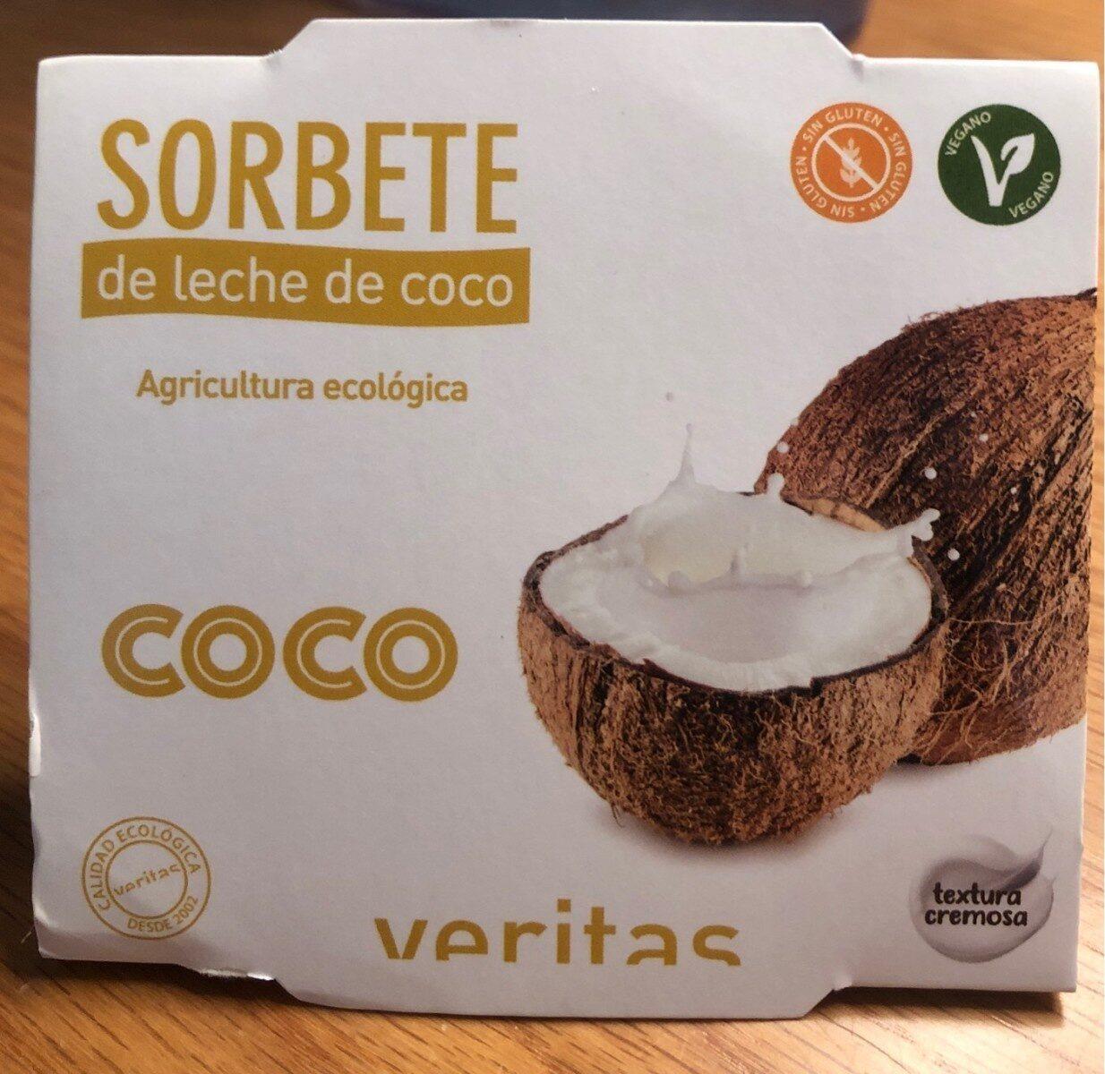Sorbete de leche de coco - Producto