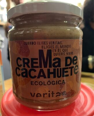 Crema de cacahuete - Produit - es