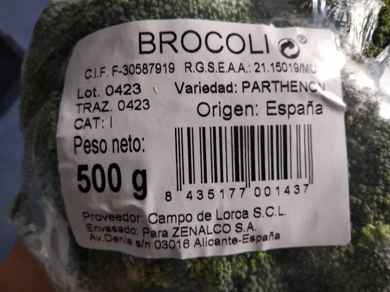 Brocolis bouquet - Wartości odżywcze