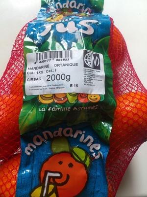 Mandarine à jus Clemenvilla - Product - fr