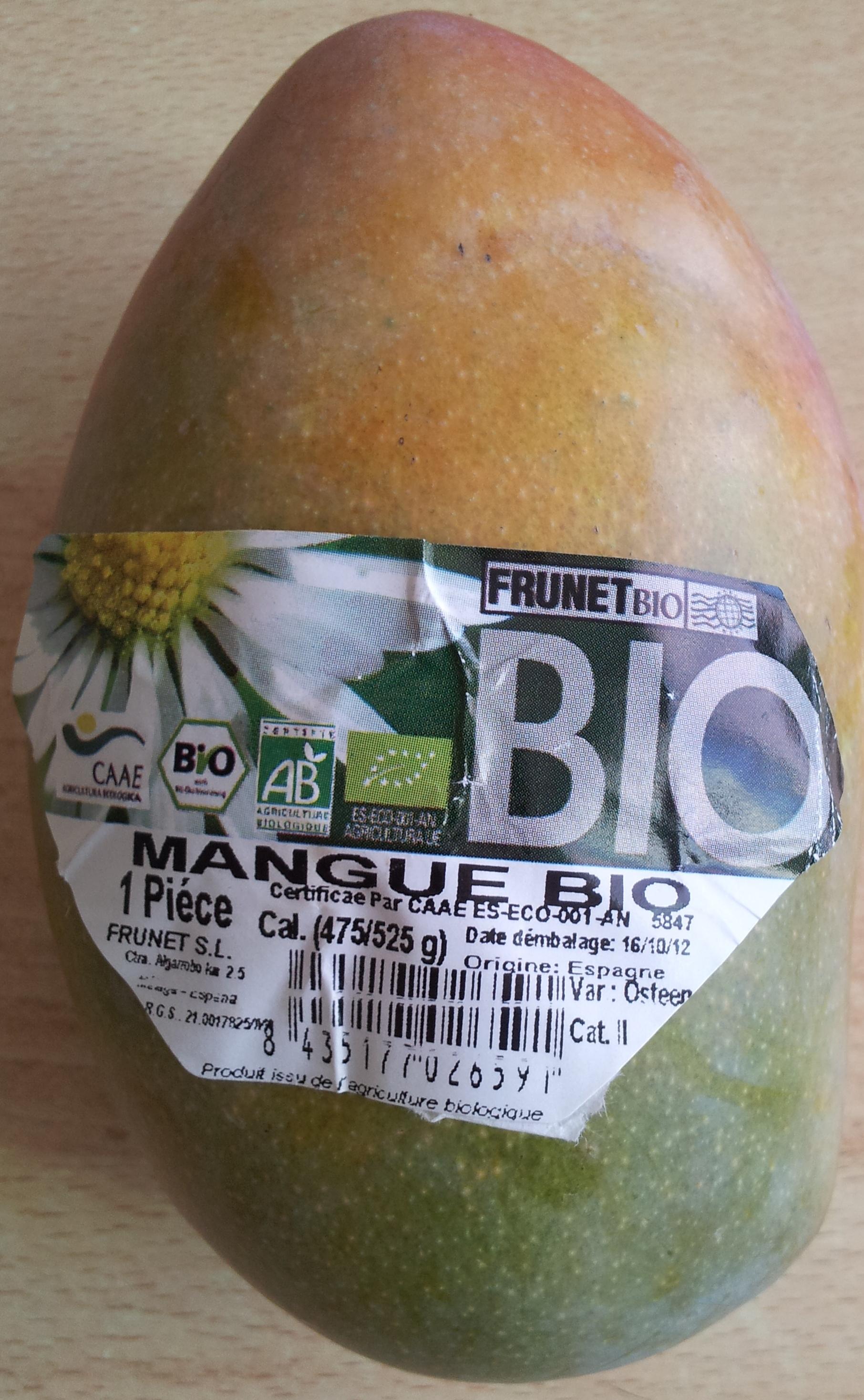 Mangue bio - Product