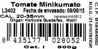 Tomates minikumato - Ingredientes