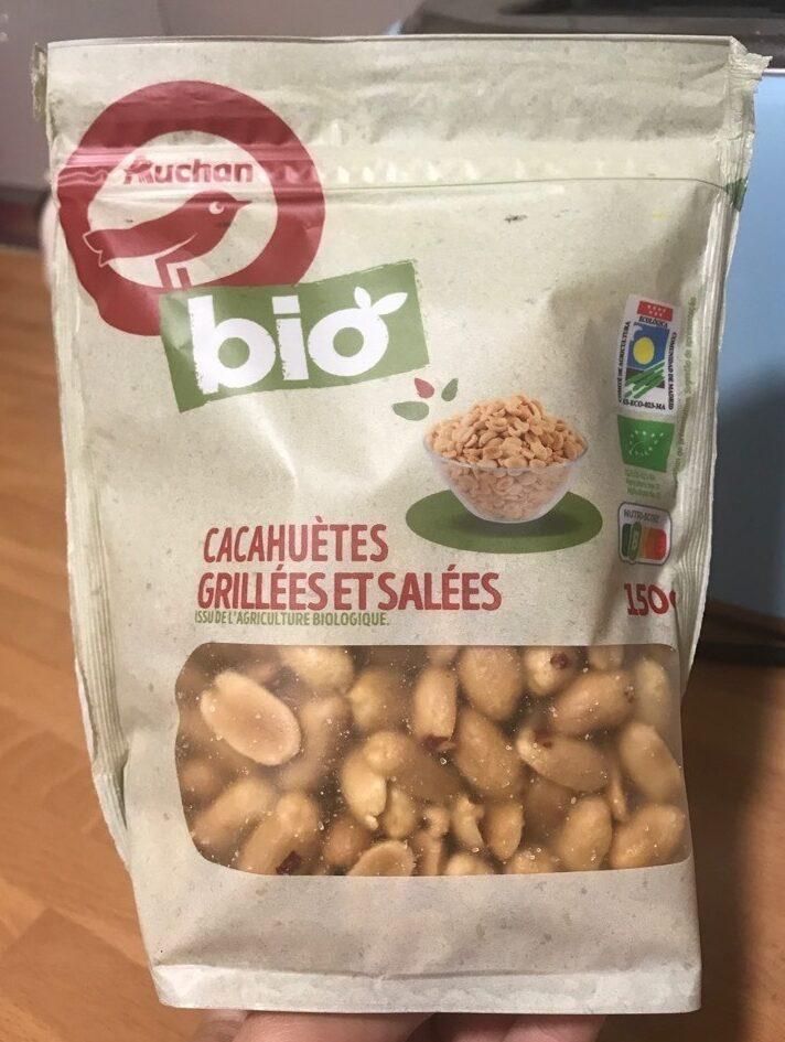 Cacahuètes grillées et salées - Produit - es