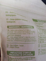 Raisins secs sultanine - Ingrédients - fr