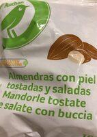Almendras con piel tostadas y saladas - Producto - es