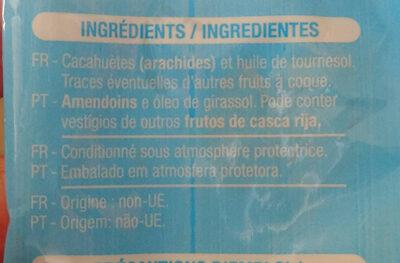 Cacahuète grillées - Ingrédients