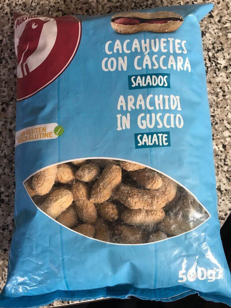 Cacahuetes con cáscara salado - Producto - es