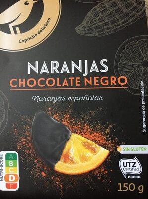 Naranjas Chocolate negro