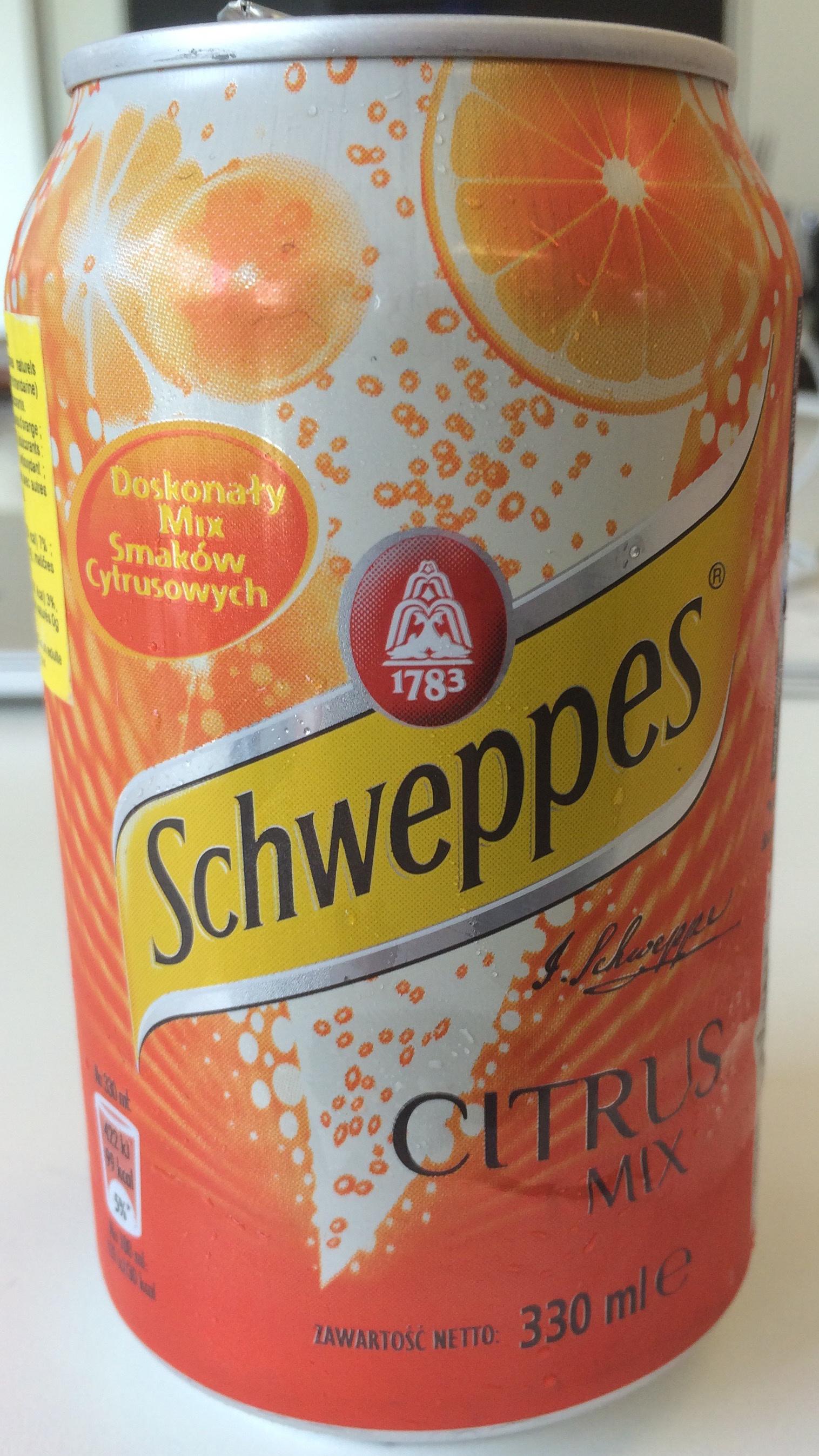 Schweppes Citrus Mix - Produit