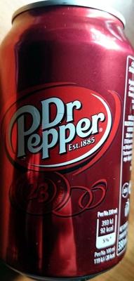 Dr Pepper - Produit