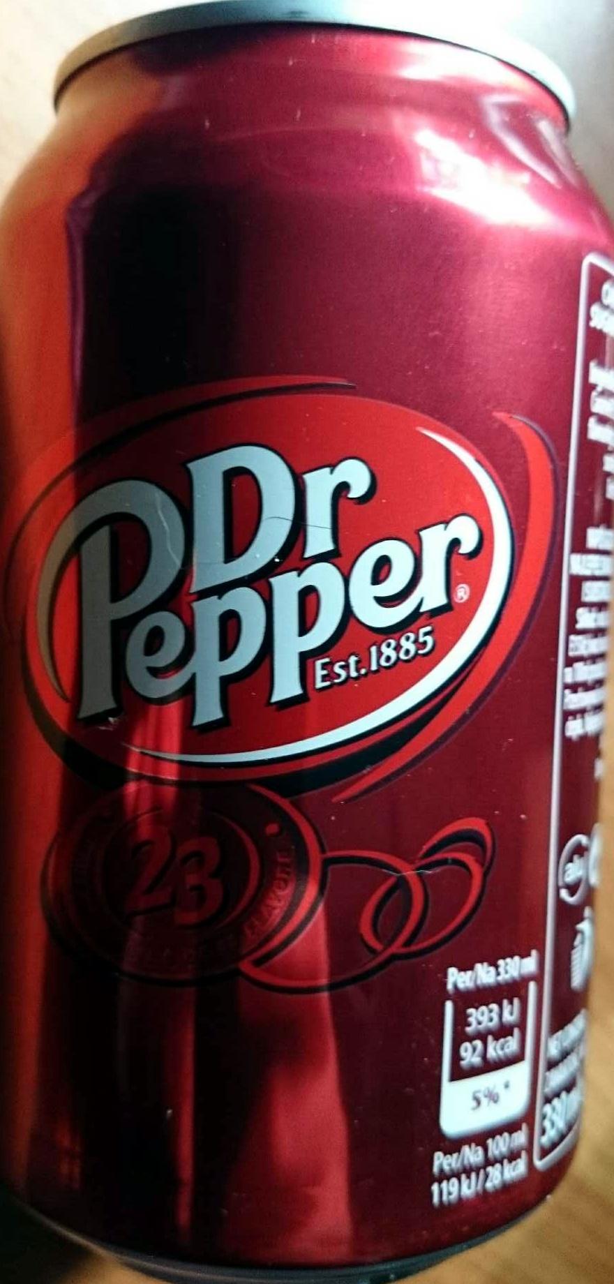 Dr Pepper - Продукт - en