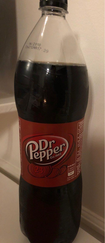Soft Drink Dr.pepper, 1,5 l, Pet - Informations nutritionnelles - en