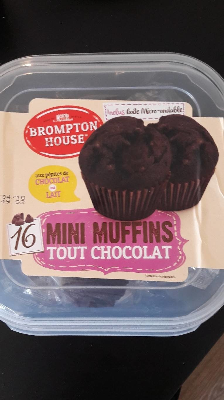 Mini Muffins Tout Chocolat - Product - fr