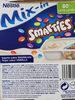 Nestlé Yogur De Vainilla Con Smarties - Produit