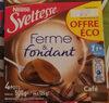 Ferme et fondant au café 4x125 g - Produit