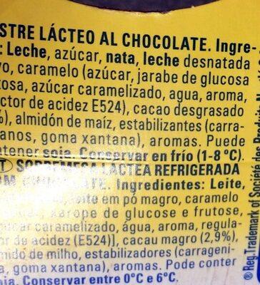 Delicias Trufa La Lechera 2 Ud De - Ingredients
