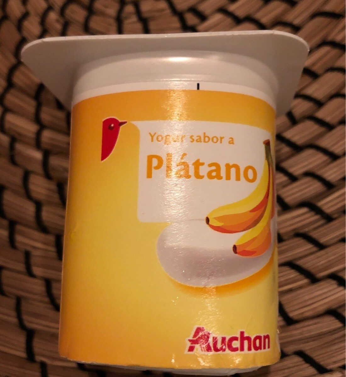 Yogur sabor a Plátano - Producte