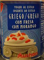 Griego con fresa - Producto - es
