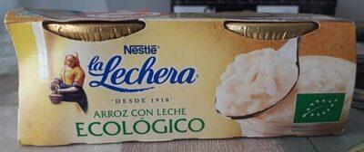 Arroz con leche ecologico la Lechera