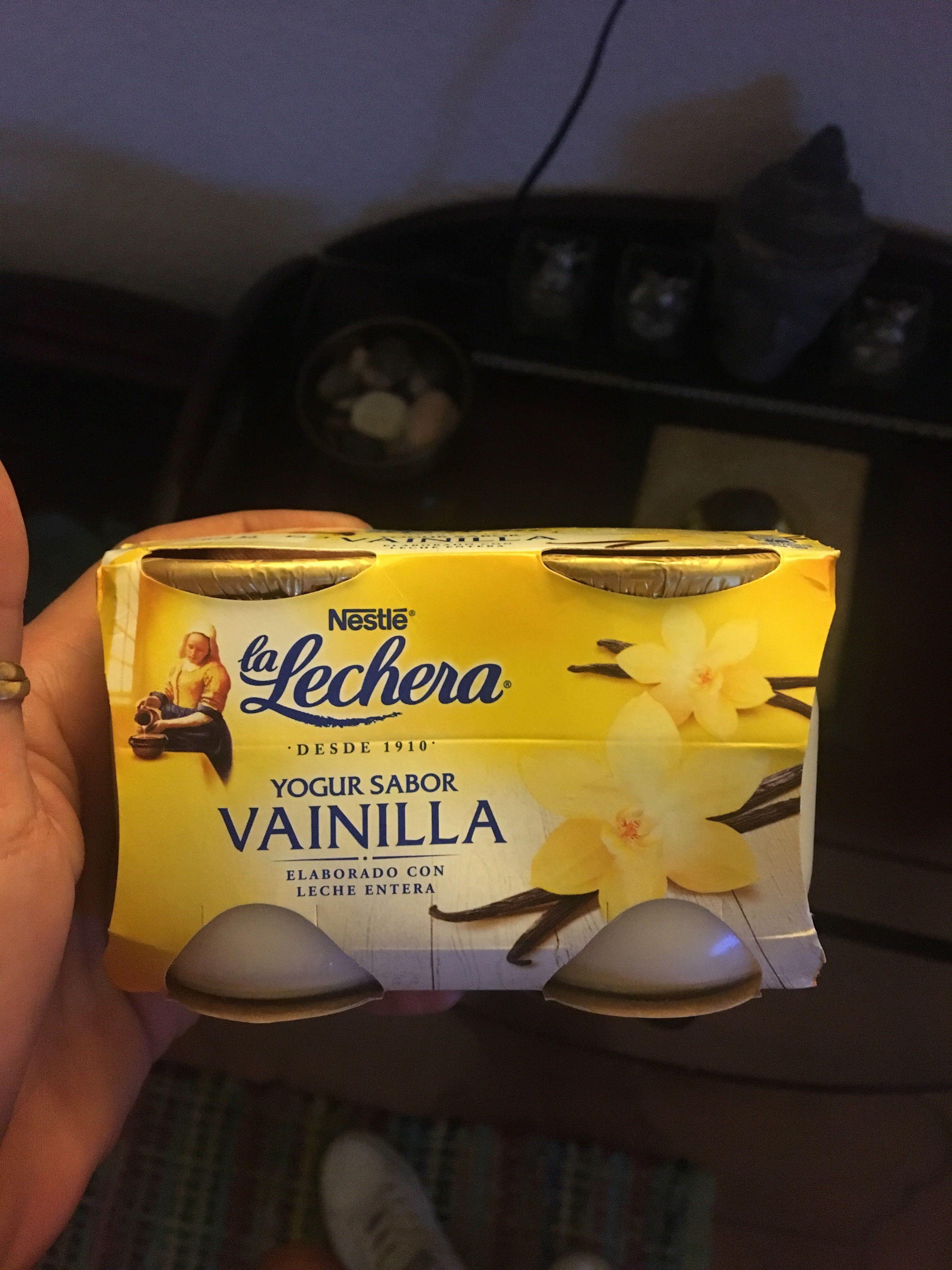 Yogur sabor vainilla - Producte - fr
