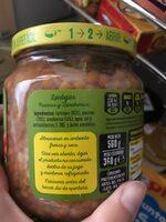 Lentejas, puerros y zanahorias - Ingredientes - es