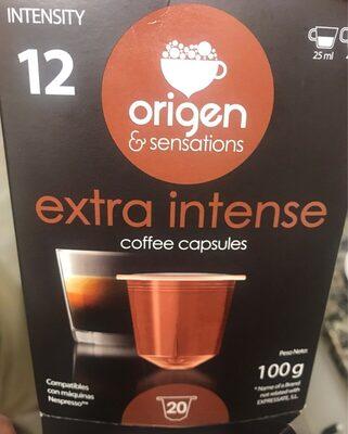 Capsulas cafe