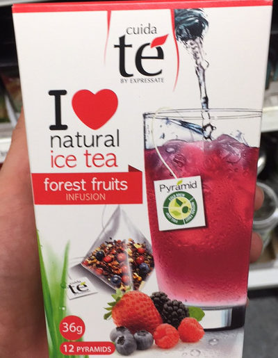 Natural ice tea - Product