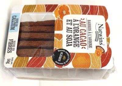 Barres à l'avoine au Cacao, à l'Orange et au Soja - 6
